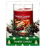 Yankee Candle Christmas Gift Set - Pillar and Wreath