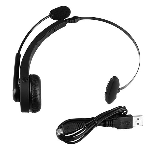 Askformore Black Bluetooth Wireless Headset For Playstation 3 Ps3