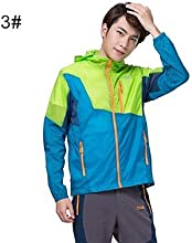 Makino Men39s Sun-proof Lightweight Jacket 3119-1 - 1 - M