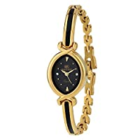 Espoir Makani Collection Analog Black Dial Women's Watch - ShrutiHassanGold0507