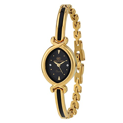 Espoir Makani Collection Analog Black Dial Women's Watch – ShrutiHassanGold0507