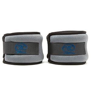 Fitness-Mad Poids pour poignet et cheville Rouge/noir 2 x 1 kg
