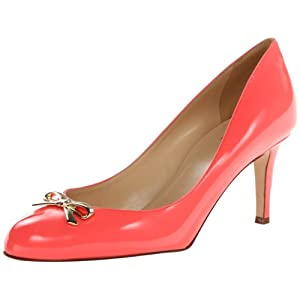 kate spade new york Women's Catia Dress Pump,Geranium/Patent,6.5 M US