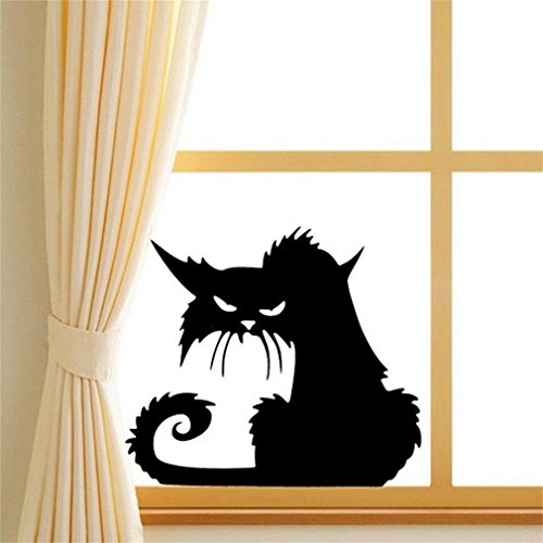 Rinhoo 2Pcs Scary Black Cat