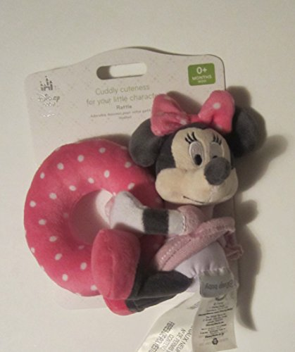 Disney Minnie Mouse Plush Rattle