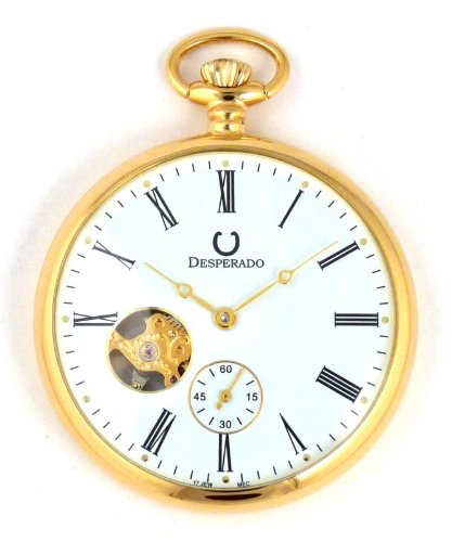Desperado Park City Gold Plated Limited Edition Pocket Watch