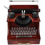 LSJw rétro machine à écrire boîte à musique de tiroir, Le cadeau des enfants