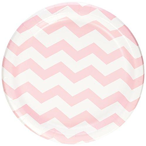 Pastel Pink Chevron Stripe