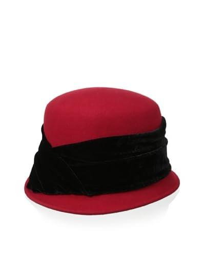 Giovannio Women's Cloche, Red