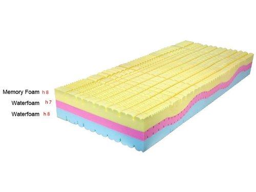 Materasso memory foam 3 strati sweet armony 200 x 160 x for Materasso per auto