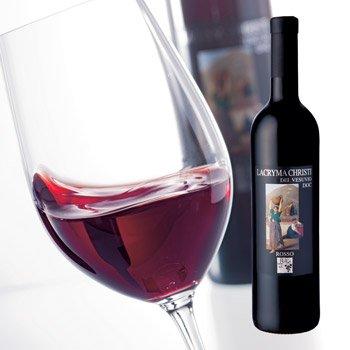 イタリアお土産  赤ワイン ラクリマ クリスティー 赤