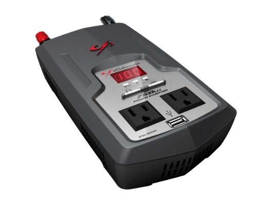 Schumacher XI75DU 750 Watt DC to AC Digital Display Power Inverter