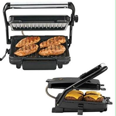 Hamilton Beach Contact Grill 85 Sq. In. Cooking
