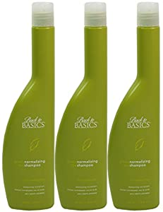 3x Graham Webb Back to Basics Green Tea Normalizing Shampoo 340ml
