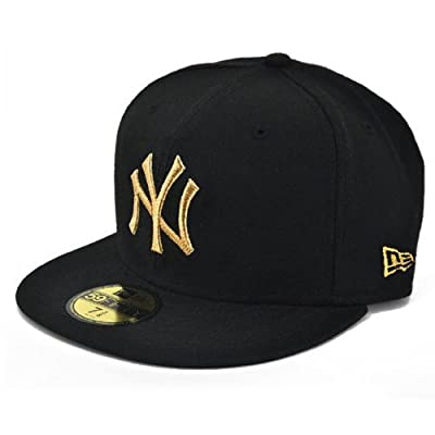 NEW ERA ニューエラ NEWERA CAP YANKEES(MLB)BLACK/GOLD N0001622 ニューエラ キャップ ヤンキース ブラック/ゴールド (7 1/2 (59.6cm))