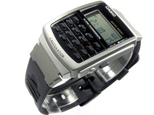 [カシオ]CASIO データバンク 腕時計 CA-56-1UW 逆輸入