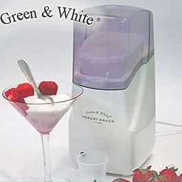 Green and White ® Familien Joghurtbereiter 1 einzigen Behälter mit 1 l