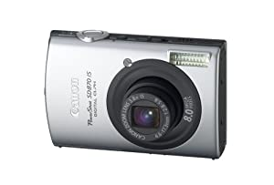 Canon PowerShot SD870IS 8MP Digital Camera with 3.8x Wide Angle Optical Image Stabilized Zoom (Black)