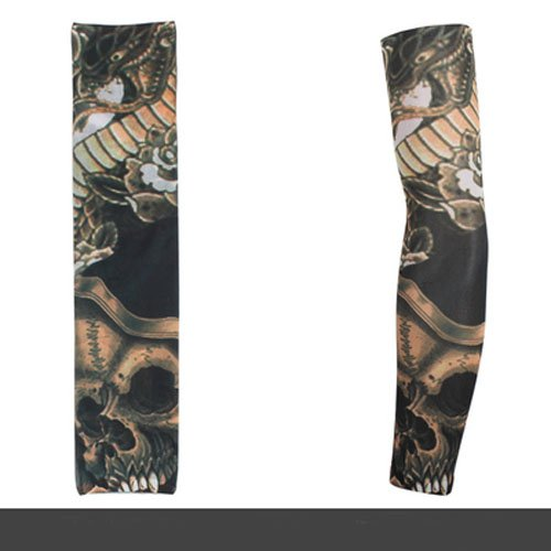 Junsi High Quality Fashion Retro Temporary Fake Slip On Tattoo Arm Sleeve arm ?rmel RV35 Neuer Stil