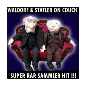 Zwei vom show die balkon muppet Opas muppet