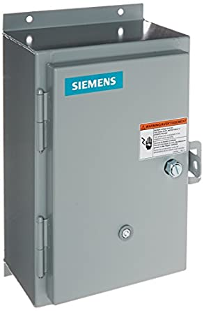 Siemens 14cuc320c heavy duty motor starter solid state for Manual motor starter with overload protection