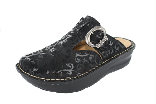 White Mountain Womens Ego Black Patent - 8.5 B(M) US