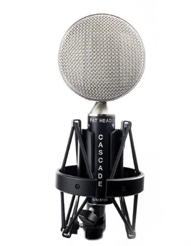 Cascade Microphones Fat Head - Black/Silver
