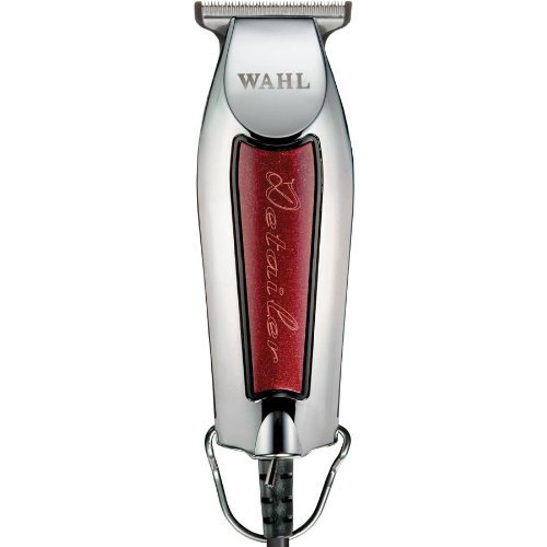 Wahl Professional 8081 5-Star Series Detailer, With Adjustable T-Blade, Super Lightweight, Ergonomically Designed And Only 5 Inches Long, Features 3 Trimming Guides (1/16 Inch - 1/4 Inch), Red Blade Guard, Oil, Cleaning Brush And Operating Instructions In