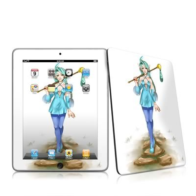 Elf Traveler Design Protective Decal Skin Sticker for Apple iPad Tablet E-Reader