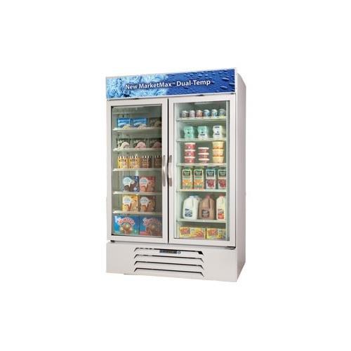 White Bottom Freezer Refrigerator front-626833