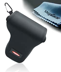 MegaGear ''Ultra Light'' Neoprene Camera Case Bag for Canon EOS M with 18-55mm Lens (Black)