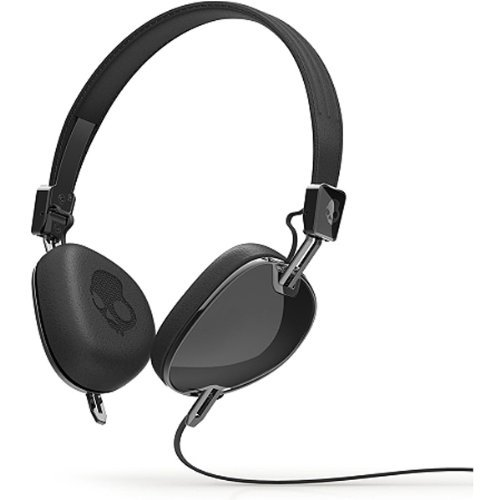 Skullcandy Navigator Stereo Headset With In-Line Mic - Black (Used - Like New - Non Retail)