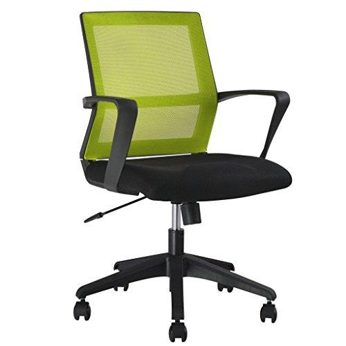 LANGRIA-Schreibtischstuhl-Drehstuhl-Mid-Back-Gitter-Chefsessel-Synchro-Tilt-Brostuhl-Verstellbare-Kopfsttze-und-Armlehne-120-Kg-Kapazitt-Farbwahl-Grn