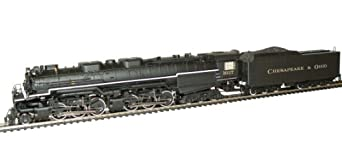 Rivarossi Chesapeake and Ohio Allegheny 2-6-6-6 Locomotive with DCC with Sound