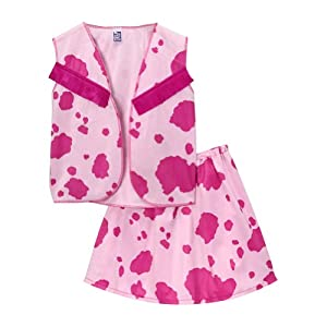 Cowgirl Vest and Skirt Set Pink (4/6)