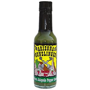 Arizona Gunslinger Green Jalapeno Hot Sauce 5 Oz from Arizona Gunslinger