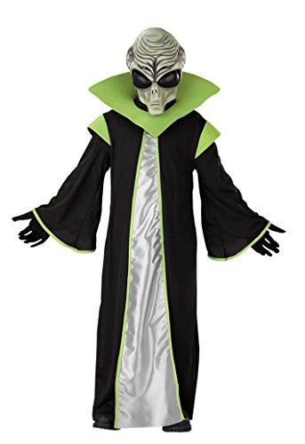 Boys Alien Kids Child Fancy Dress Party Halloween Costume