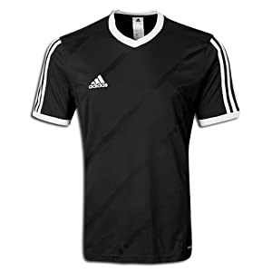 Amazon.com : adidas Tabela 14 Replica Soccer Jersey Black