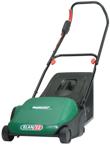 Qualcast Elan 32 Electric Cylinder Lawnmower (32 cm Cutting Width)