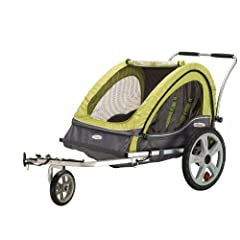 InStep Sierra Double Bicycle Trailer by Pacific Cycle