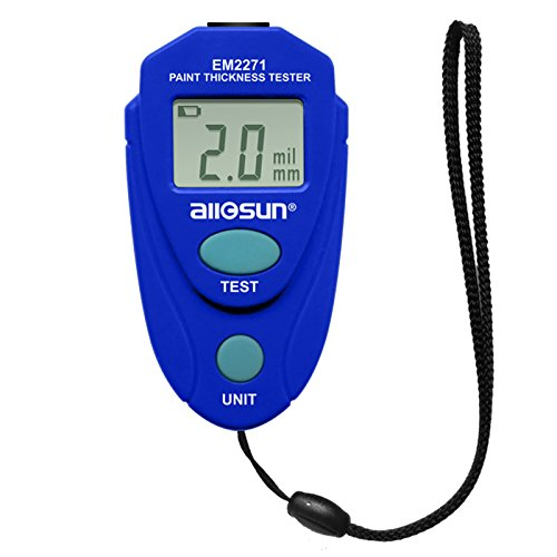 all-sun Digital Painting Thickness Meter Mini LCD Car Coating Thickness Gauge