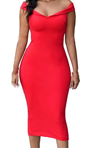 ZKESS-Womens-Sleeveless-Bodycon-Party-Club-Midi-Dress
