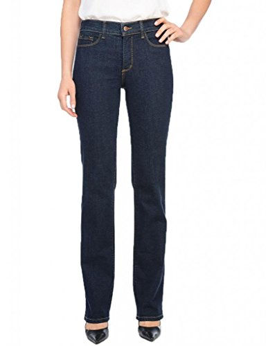 Nydj Women'S Straight Leg Jean, Blue/Black, 12 front-1064366