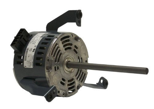 Fasco D1053 5.0-Inch Diameter Psc Motor, 1/30-1/40-1/50 Hp, 265 Volts, 1075 Rpm, 3 Speed, .38-.20-.14 Amps, Cw Rotation, Sleeve Bearing