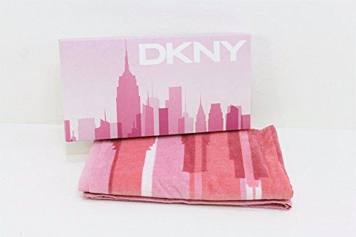 dkny-designer-donna-rosa-telo-palestra-asciugamano-boxed-natale-regalo-di-natale