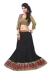 Look Smart Women's Best Looking Lehenga Choli (SARGAM ZIGZAG_Multicolor_)