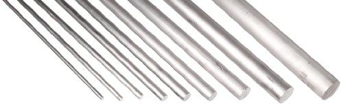 6061 Aluminum Round Rod Sample Pack, T6 Temper, 36