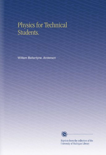Physics for Technical Students