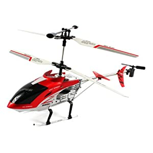 Electric Full Function 3.5CH Unbreakable Super Aviation GYRO RTF RC Helicopter (COLORS MAY VARY) Remote Control can Withstand 220 LBS. of Pressure!!