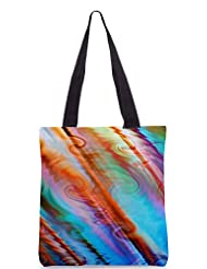 Snoogg Water Colours Poly Canvas Tote Bag
